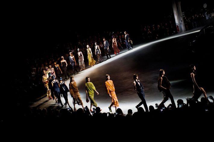 Givenchy finale.