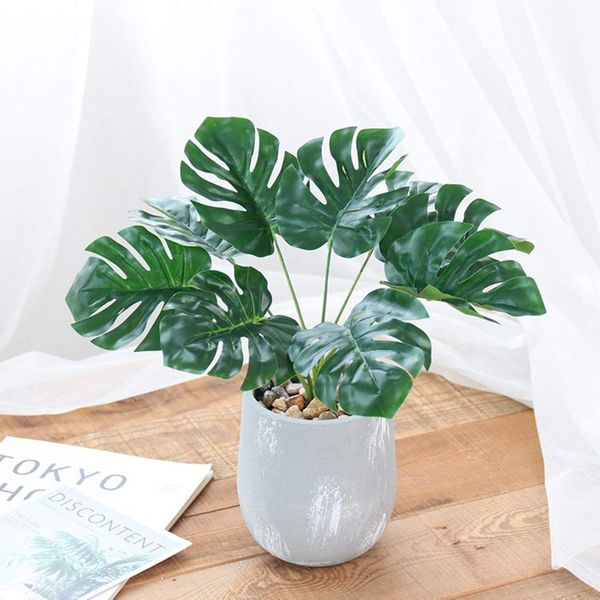 Artificial Large Potted Monstera