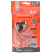 SOL Two-Person Survival Blanket