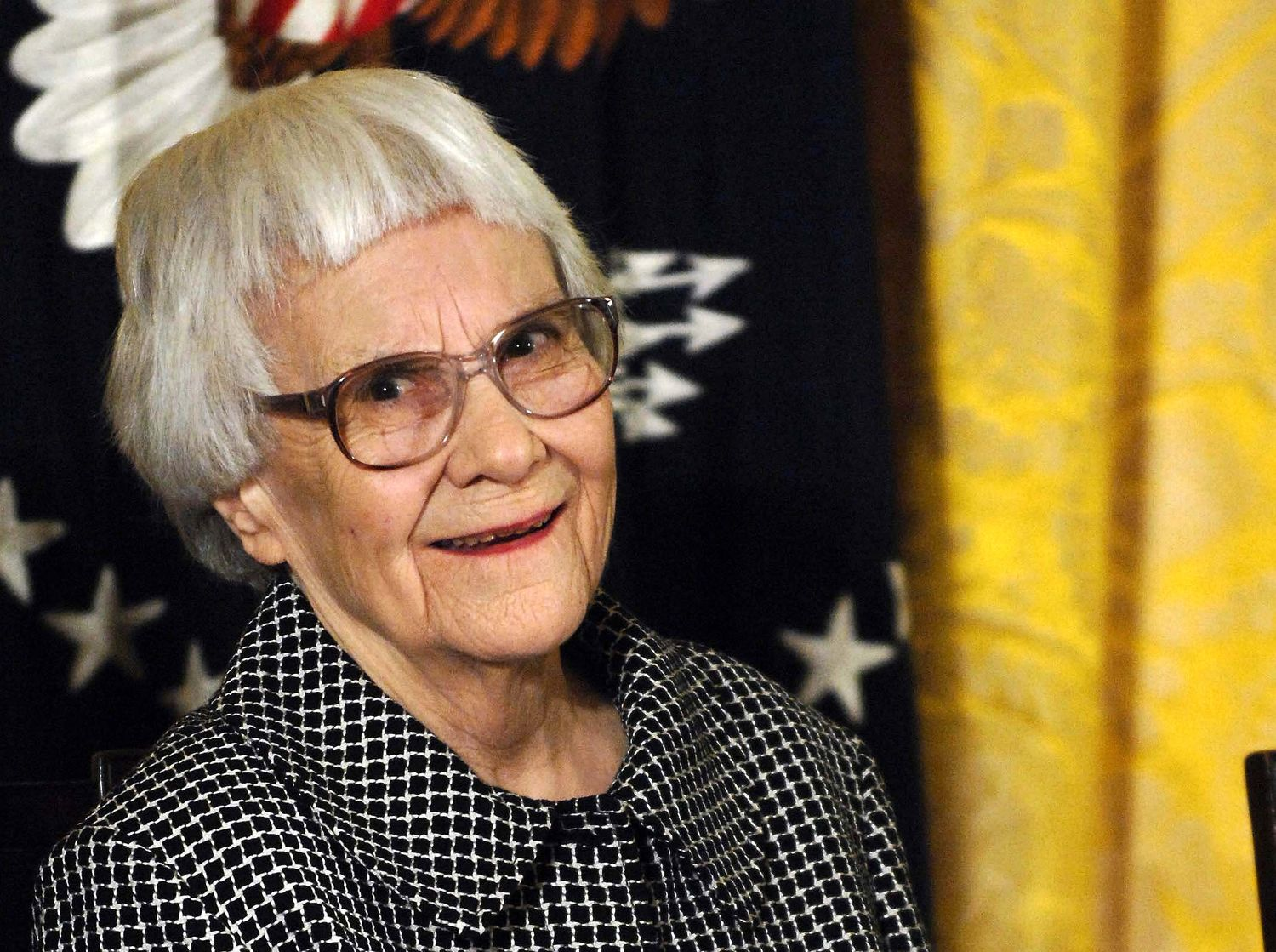 Harper Lee earned a  million dollar salary, leaving the net worth at 35 million in 2017