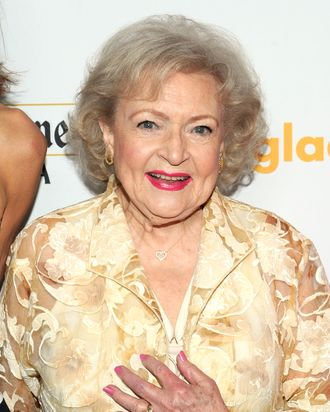 Actress Betty White
