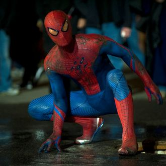 Andrew Garfield stars as Spider-Man/Peter Parker in Columbia Pictures'