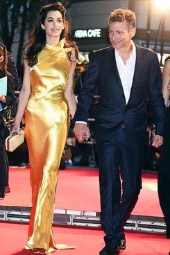 Amal Clooney and her brother, Samer Alamuddin.