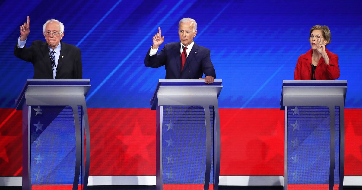 The Houston Debate Didn't Disturb the Big Three's Dominance