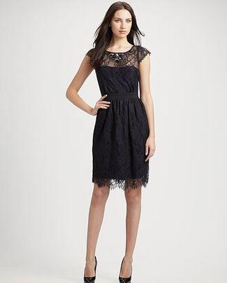 A dress by ML Monique Lhuillier.
