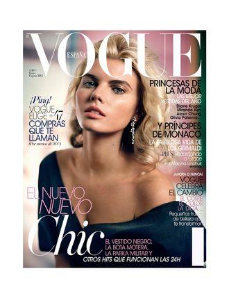 Maryna Linchuk for <em>Vogue</em> Spain.