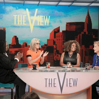 THE VIEW - 5/15/14 - For the first time in television history, all 11 co-hosts of ABC's