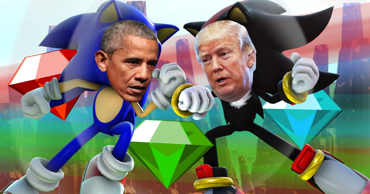 Is President Trump Tweeting About The Chaos Emeralds