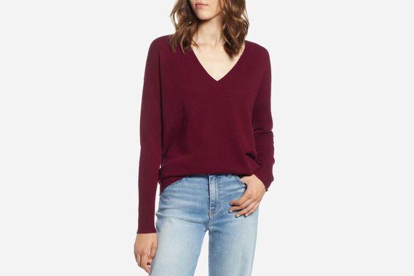 Halogen Cashmere Sweater