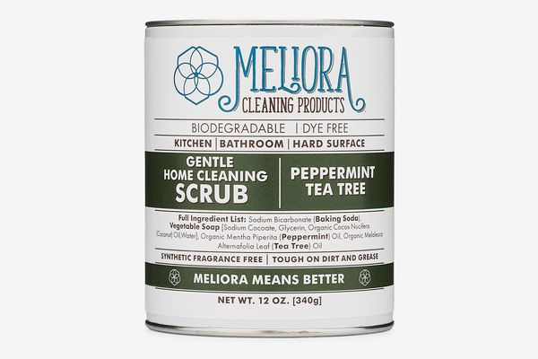 Meliora Cleaning Products Gentle Home Cleaning Scrub