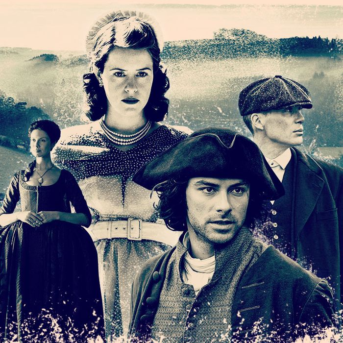 British TV Period Dramas, Sorted Chronologically