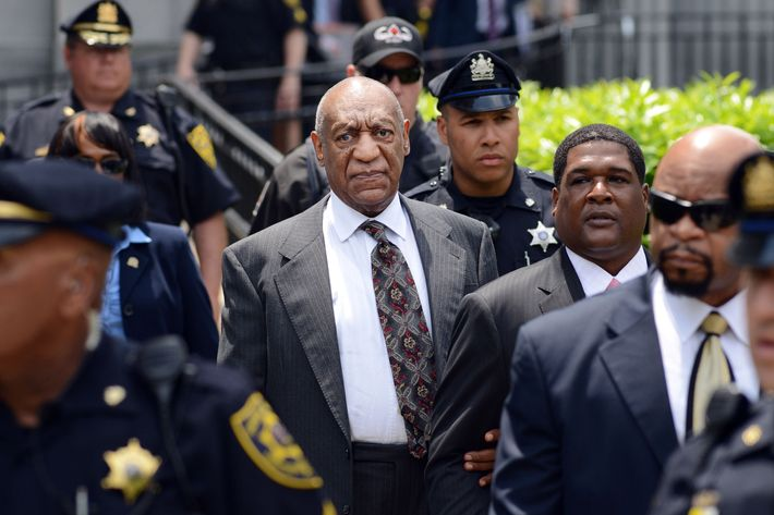 Bill Cosby in court Tuesday.