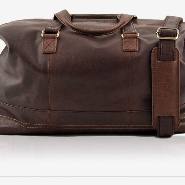 Lakeland Leather Keswick Real Leather Weekend and Overnight Holdall Duffle Bag