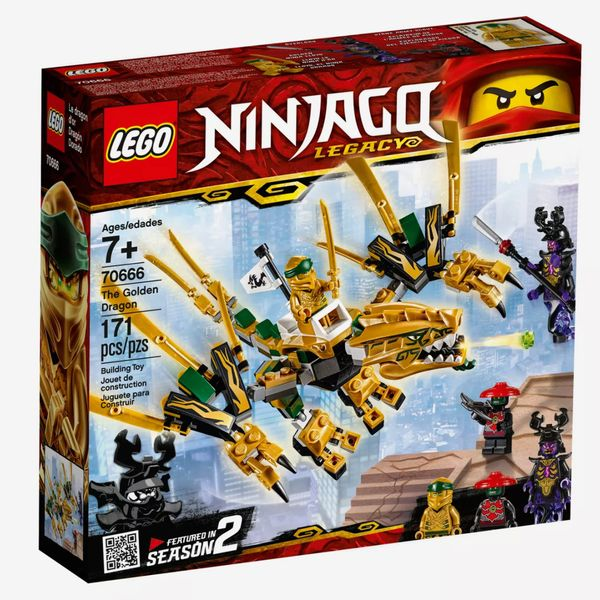 LEGO Ninjago: Masters of Spinjitzu, The Golden Dragon, Ages 7+