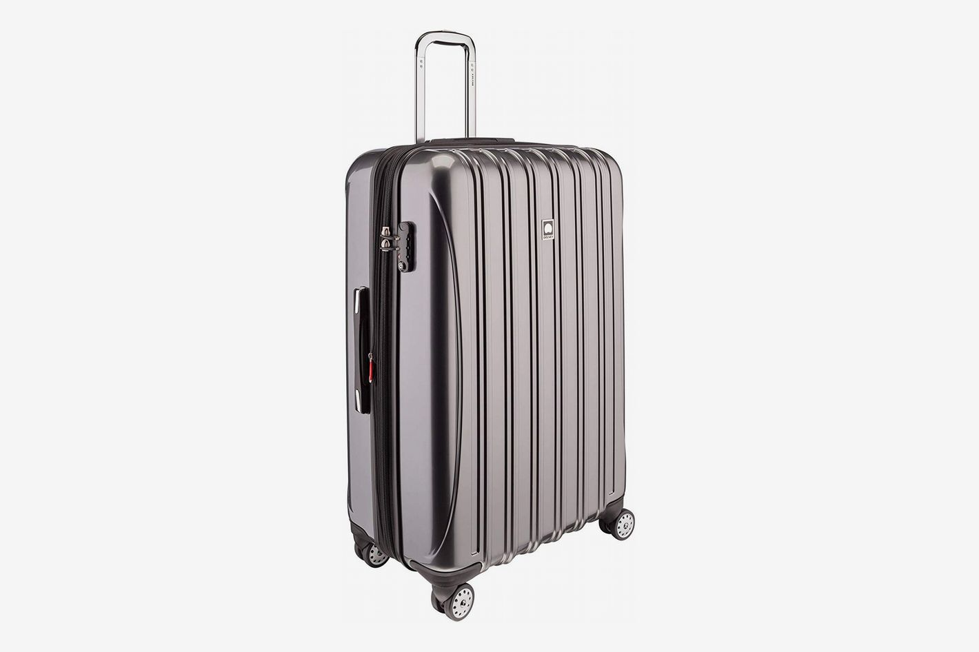 dcc3cc0e9 Best lightweight hard-sided spinner luggage for checking. Delsey Paris  Luggage Helium Aero Large Checked Luggage