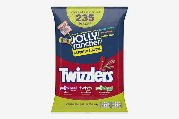HERSHEY'S Bulk Halloween Candy Variety Mix, 235 Count (JOLLY RANCHER & TWIZZLERS)