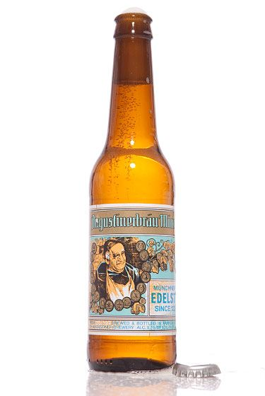 "Augustiner-Bräu Wagner (Germany) <br>$2.89 for 11.2 oz. <br><strong>Type:</strong> Helles Lager<br><strong>Tasting notes:</strong> ""A crisp, yellow lager with a refreshing finish. Even with close to 6 percent ABV, you can knock these back."" <br>—David Cichowicz, owner, Good Beer NYC<br>"