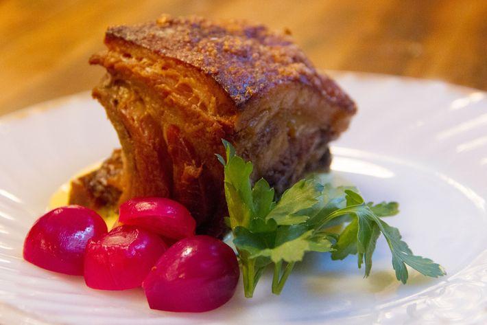 Roast pork.