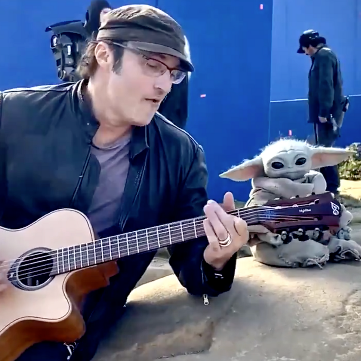 Watch Baby Yoda Dances To Robert Rodriguez S Guitar Creative inspiration for all your crafts and projects! watch baby yoda dances to robert