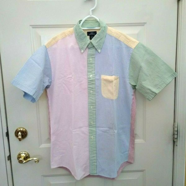 Brooks Brothers Short Sleeve Seersucker Shirt