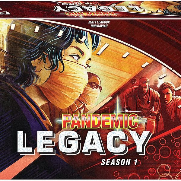 Z-Man Games Pandemic Legacy Season 1 — Red