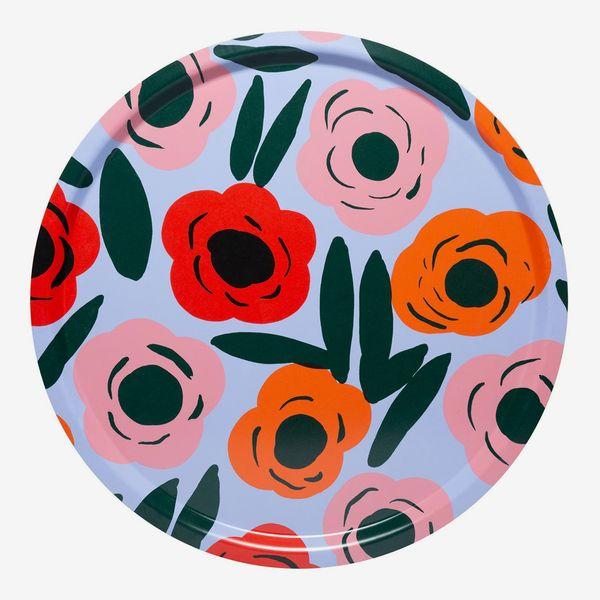 Marimekko Ruukku Floral Print Serving Tray