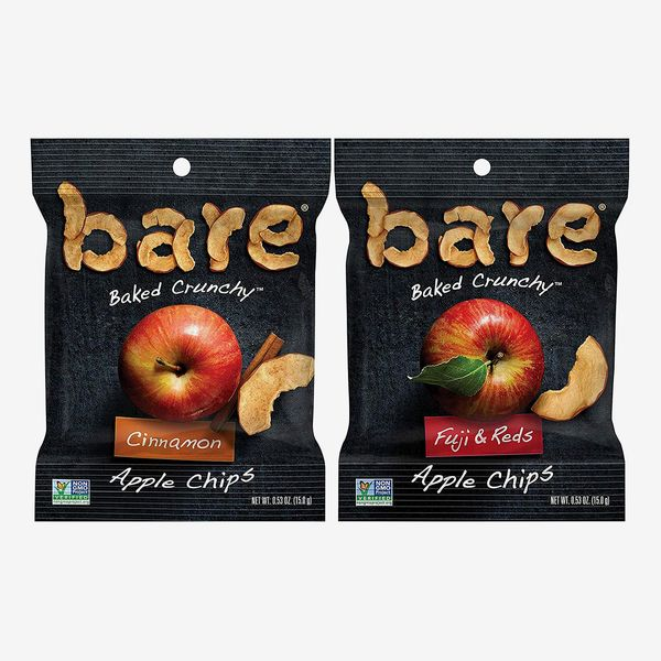Bare Baked Crunchy Apples Snack Pack (Fuji & Reds and Cinnamon Flavors, 16 Count)