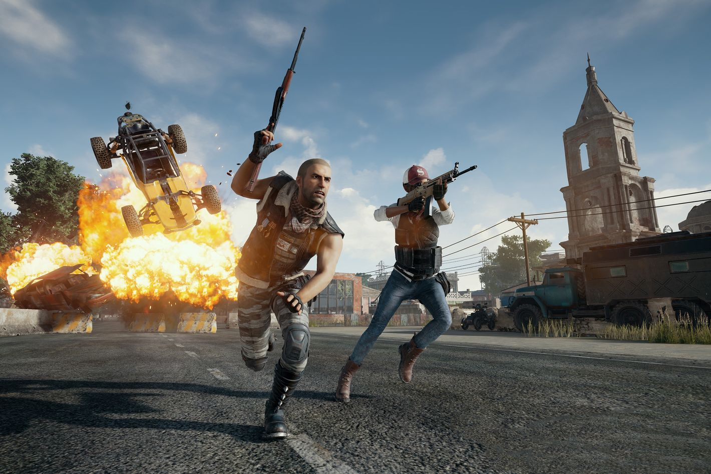 PlayerUnknown's Battlegrounds Ban