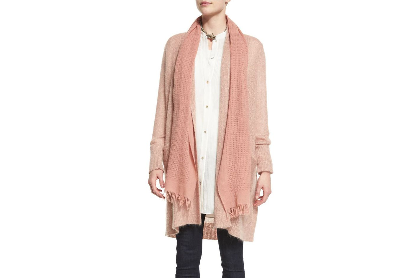 Eileen Fisher Wool Open Network Scarf