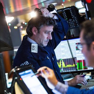 Markets Dive At Open Of First Trading Day Of 2016
