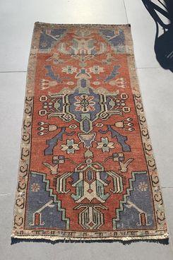 PASTELRUGLOVE Vintage Turkish Rug