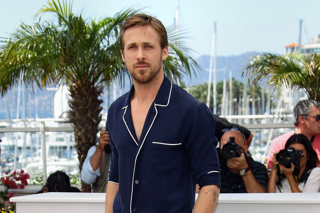 "Actor Ryan Gosling attends the ""Drive"" photocall at the Cannes Film Festival."