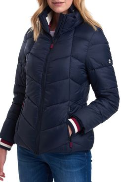 Barbour Quilted Puffer Coat