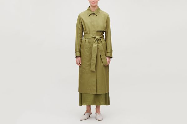 COS Cotton-Twill Trench Coat