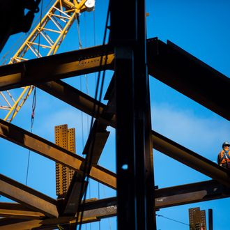 Inside The 10 Hudson Yards Topping Out Ceremony