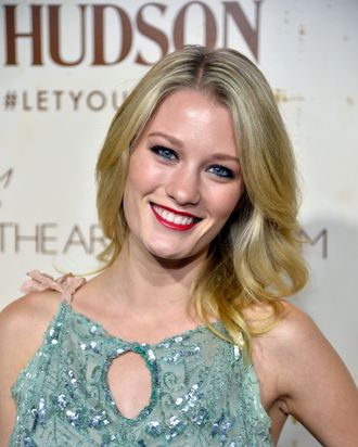 LOS ANGELES, CA - SEPTEMBER 20: Actress Ashley Hinshaw arrives at Hudson Jeans Presents The Art of Elysium's Genesis Celebrating Emerging Artists at Siren Cube on September 20, 2013 in Los Angeles, California. (Photo by Frazer Harrison/Getty Images for Art of Elysium)
