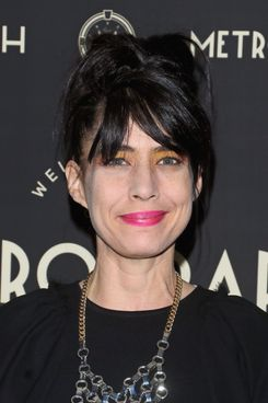 Bikini Kill's Kathleen Hanna at Metrograph, a new movie theater on the Lower East Side.