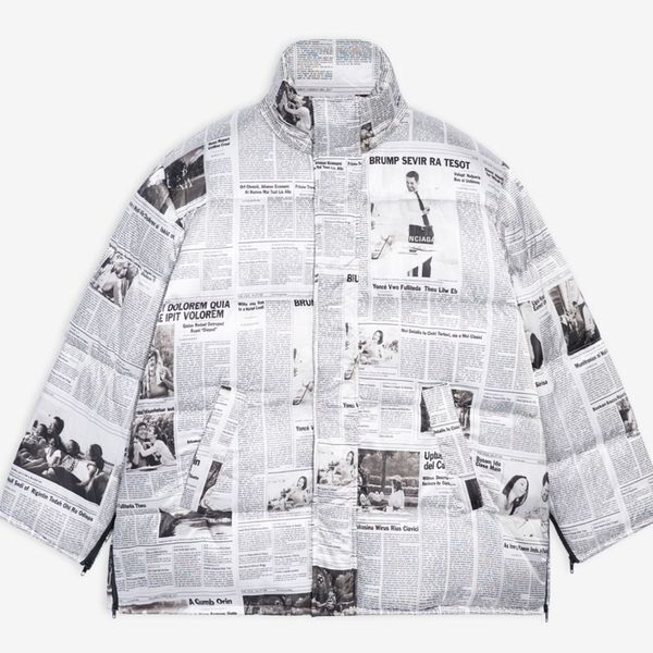 Balenciaga Cape Puffer Jacket