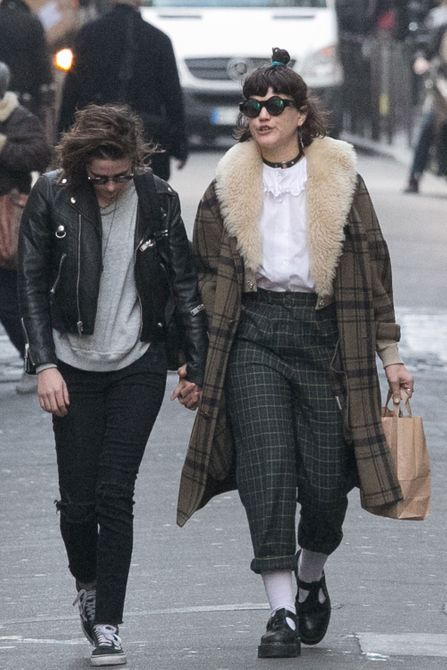 Kristen Stewart and Soko Sighting In Paris - March 15, 2016