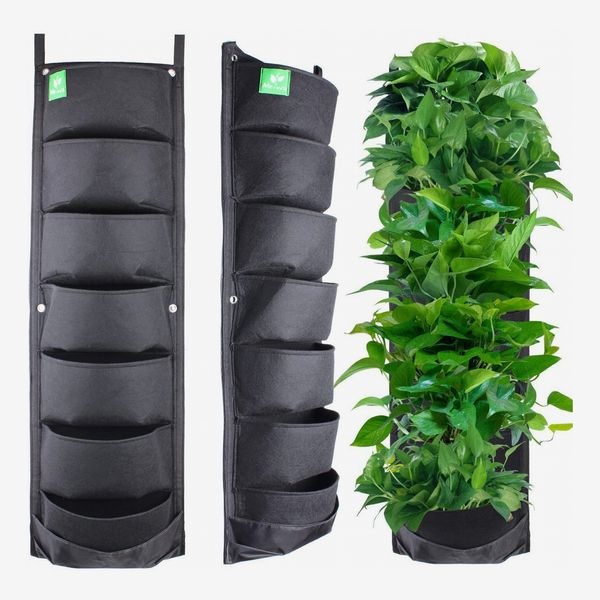 Meiwo 7-Pocket Hanging Vertical Garden Wall Planter