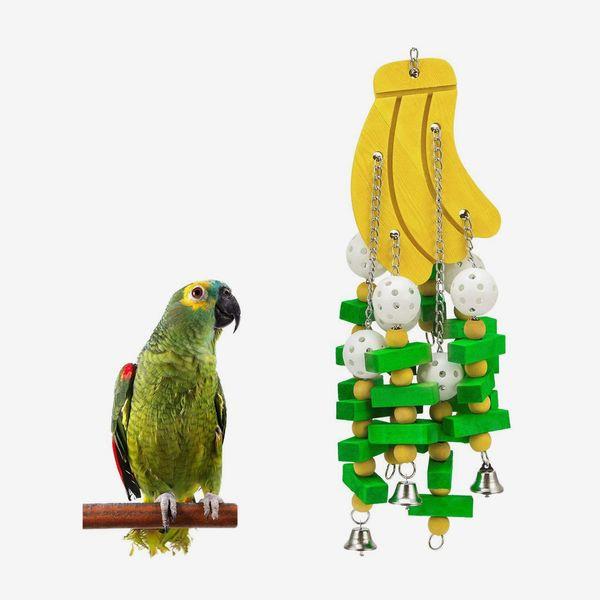 MQ Bird Wooden Block Chewing Toy