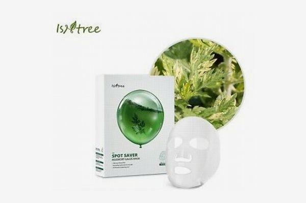 Isntree Spot Saver Mugwort Gauze Mask Set