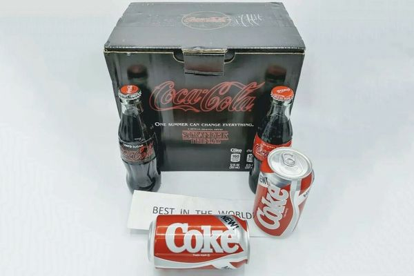 New Coke & Stranger Things 1985 Limited Edition Collector's Pack