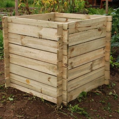 Wooden Composter (Small, 373L)