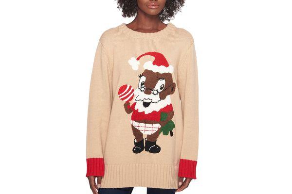 Whoopi Baby Santa Sweater