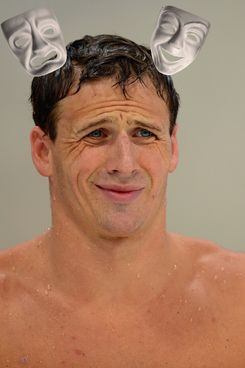 Ryan Lochte, budding thespian.