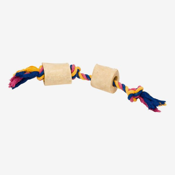 USA Bones & Chews Cotton Rope with Bones Dog Toy