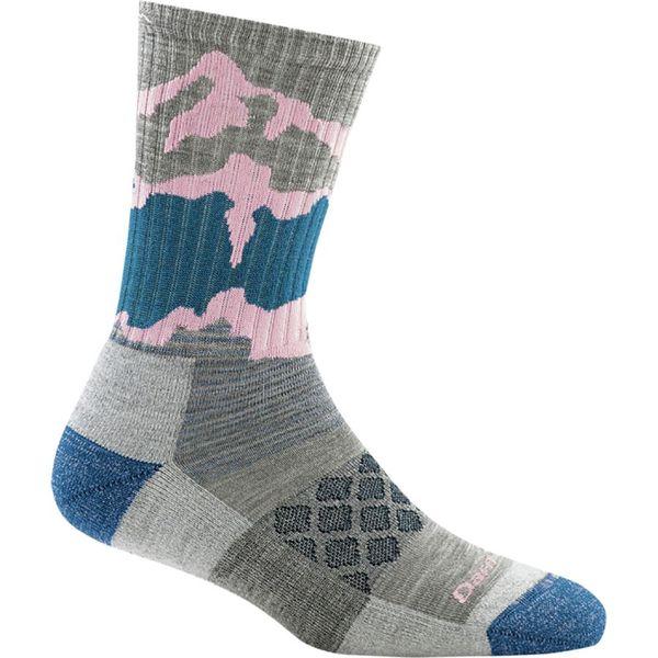 Darn Tough Women's Three Peaks Micro Crew Light Cushion Sock