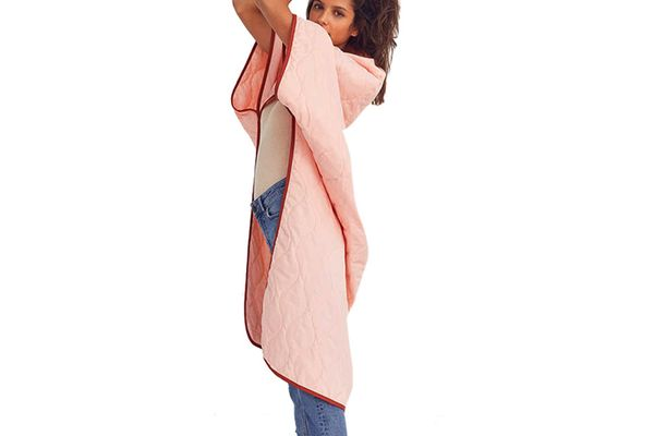 Ripstop Nylon Wearable Throw Blanket