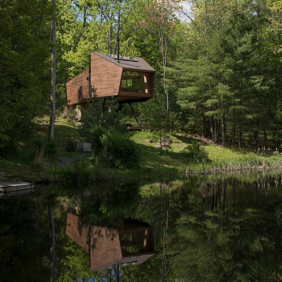 The Willow Tree House in Woodstock, New York